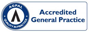 AGPAL Accredited General Practice Sign